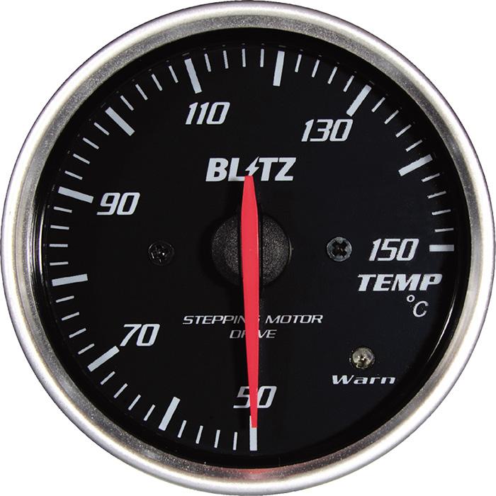★□ Blitz / ブリッツ RACING METER SD(レーシングメーターSD) φ60 TEMP METER 19563