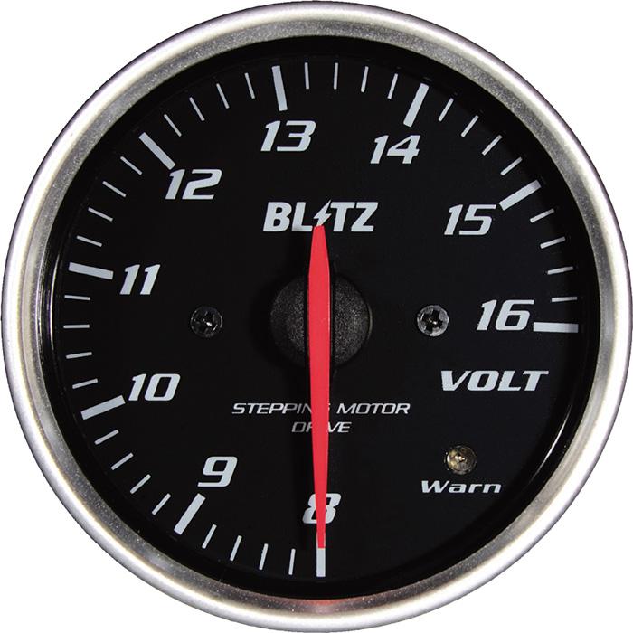 ★□ Blitz / ブリッツ RACING METER SD(レーシングメーターSD) φ52 VOLT METER 19577
