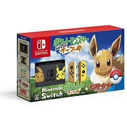 ★☆Nintendo / 任天堂 Nintendo Switch ポケットモンスター Let's Go! イーブイセット 【ゲーム機】【送料無料】