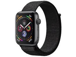 ★アップル / APPLE Apple Watch Series 4 GPSモデル MU6E2J/A 44mm [ブラックスポーツループ]【送料無料】