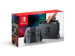●◇Nintendo / 任天堂 Nintendo Switch [グレー](3000円クーポン貼付なし)【送料無料】