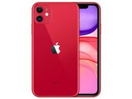 【スマートフォン】【送料無料】 RED iPhone [レッド] / APPLE 11 64GB SIMフリー (SIMフリー) ★アップル