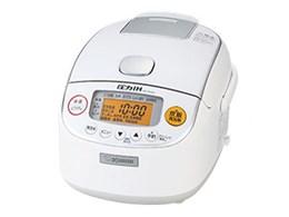 クリーニング機能 を搭載した圧力IH炊飯ジャー ZOJIRUSHI 象印 極め炊き NP-RM05-WA 炊飯器 送料無料 ホワイト 信頼 セール