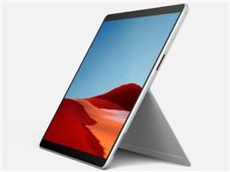 Microsoft マイクロソフト Surface 返品交換不可 Pro 蔵 X SIMフリー 送料無料 タブレットPC プラチナ 1WT-00011