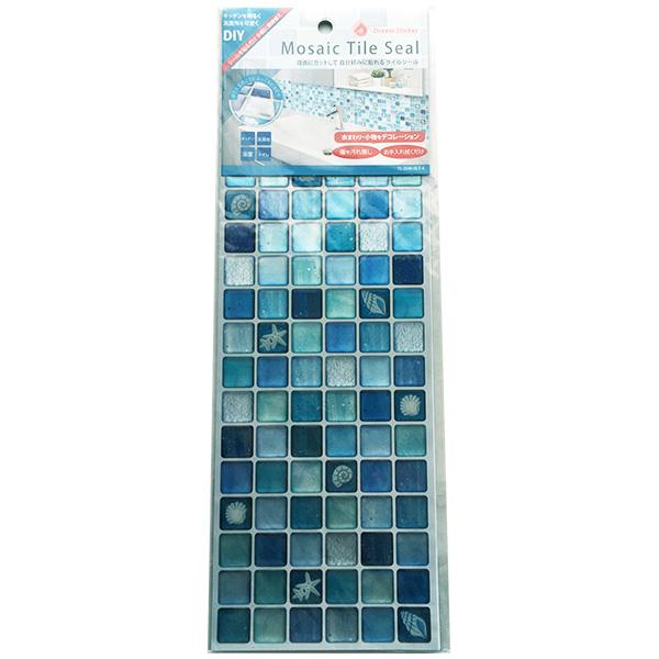 モザイクタイルシール ALT-4×32 小箱 ブルー Blue Dream Sticker