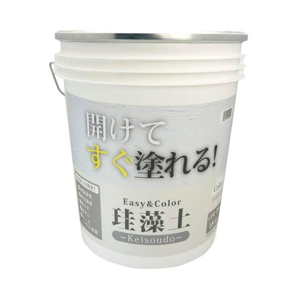 ワンウィル EASY&COLOR 珪藻土 ホワイト 18kg
