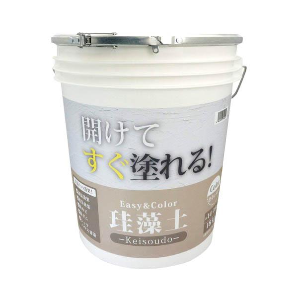 補修 ワンウィル EASY&COLOR 珪藻土 キャメル 18kg