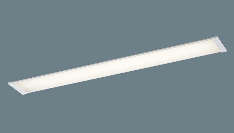 パナソニック 天井埋込型 LEDキッチンベースライト浅型8H・高気密SB形・拡散タイプ Hf蛍光灯32形1灯器具相当 電球色LGB52056LE1
