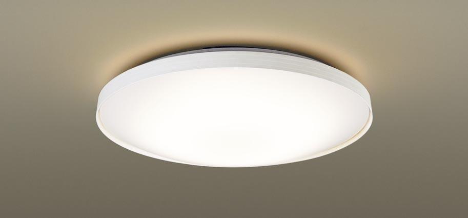 パナソニック 天井直付型 LEDシーリングライトリモコン調光(昼光色~電球色)・リモコン調色・カチットF ~10畳LGBZ2537K