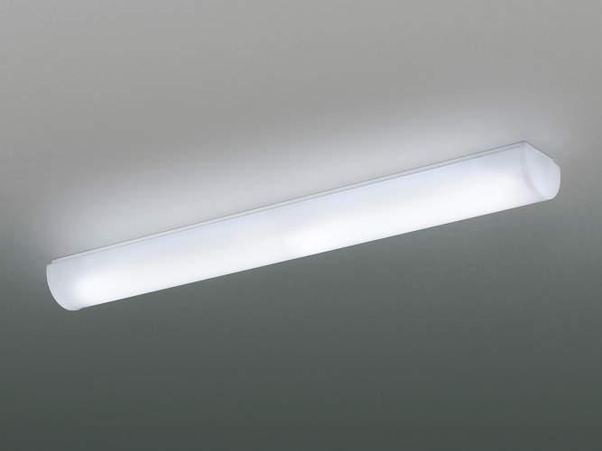 コイズミ LEDキッチンライト FHF32W×2灯相当 傾斜天井取付可能 直付・壁付取付可能型 LED一体型 昼白色AH42523L