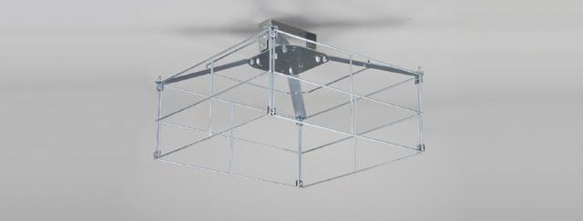 【法人様限定商品】東芝 LEDX-40052G LED高天井器具一般形 アクセサリ オプション 体育館用ガード【受注生産品】