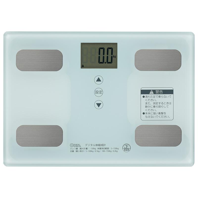 新品未使用正規品 オーム電機 HB-KG11R1-W 国内正規品 体重体組成計 ホワイト 08-0491 品番