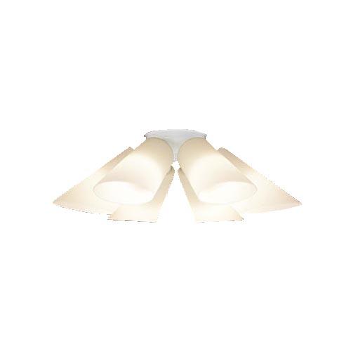 パナソニック天井直付型 LED(電球色) シャンデリア 100形電球6灯器具相当 ~14畳(パナソニック社独自基準)LGB57681