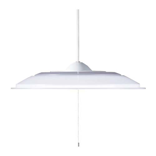 パナソニック直付吊下型LED(昼光色)ペンダントプスイッチ付・プラスチックセードタイプ ~6畳LGB11501LE1