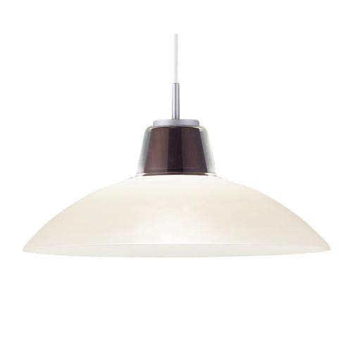 パナソニック直付吊下型LED(電球色)ダイニング用ペンダント100形電球1灯相当・ガラスセードタイプLGB15386