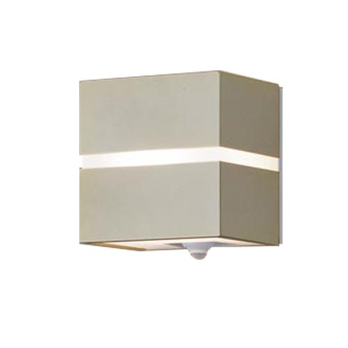 パナソニック壁直付型LED(電球色)ポーチライト40形電球1灯相当・拡散タイプ 防雨型・FreePaお出迎え・明るさセンサ付・点灯省エネ型LGWC80354LE1