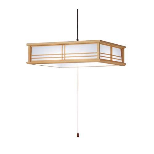 パナソニック直付吊下型LED(昼光色)ペンダント プルスイッチ付・プラスチックセードタイプ・下面開放 ~8畳LSEB8201LE1