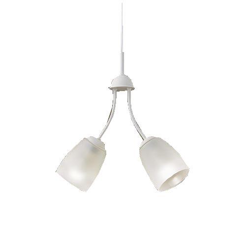 パナソニック直付吊下型 LED(電球色) シャンデリア 50形電球2灯器具相当LGB19204Z