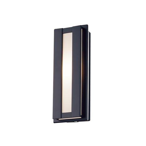 パナソニック 壁直付型 LEDポーチライト 電球色拡散タイプ 防雨型・FreePaお出迎え・段調光省エネ型・明るさセンサ付 40形LGWC80416LE1