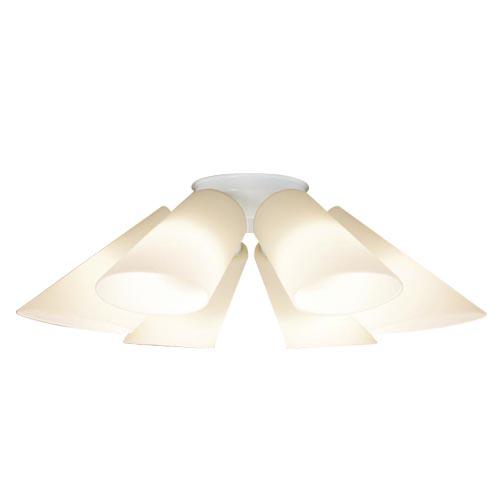 パナソニック 天井直付型 LEDシャンデリア Uライト方式 電球色LGB57611K