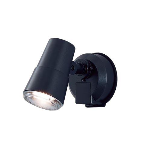 パナソニック 壁直付型 LEDスポットライト・勝手口灯 電球色照射面中心60形電球1灯相当 防雨型・FreePa・フラッシュ・ON/OFF型(連続点灯可能)・明るさセンサ付 50形LGWC45001BK