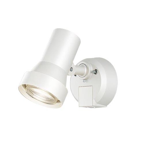 パナソニック 壁直付型 LEDスポットライト・勝手口灯 電球色照射面中心60形電球1灯相当 防雨型・FreePa・フラッシュ・ON/OFF型(連続点灯可能)・明るさセンサ付 パネル付型 50形LGWC45030WZ