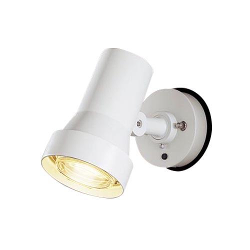 パナソニック 天井直付型・壁直付型 LEDスポットライト・勝手口灯  照射面中心60形電球1灯相当 防雨型 パネル付型 50形 電球色LGW45030WZ