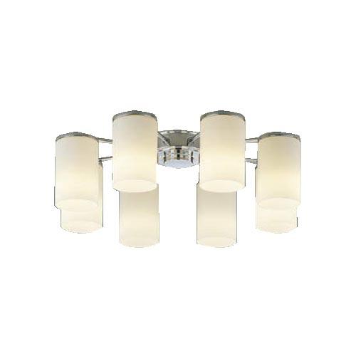 コイズミLEDシャンデリア 8灯 電球色 ~14畳AA39672L