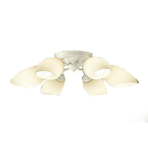 DAIKOLEDシャンデリア 6灯 ~10畳 電球色 白熱灯100W×6灯相当DCH-38795Y