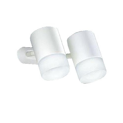 DAIKOLEDスポットライト フランジタイプ 昼白色 白熱灯100W×2灯相当 天井付・壁付兼用DSL-4706WW