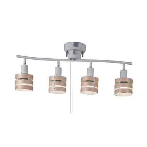 【法人様限定】東京メタル LEDシーリングライト 4灯 HC-P018WHZ