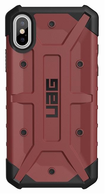 アウトレット特価 米軍採用品の選定基準をクリアする耐衝撃性 アウトレット Seasonal Wrap入荷 メール便可 UAG-IPHX-CA iPhoneXS iPhoneX 用 Pathfinder ケース アップル GEAR Apple アーバンアーマーギア カーマイン 至高 コンポジットケース 国内正規代理店品 URBAN ARMOR