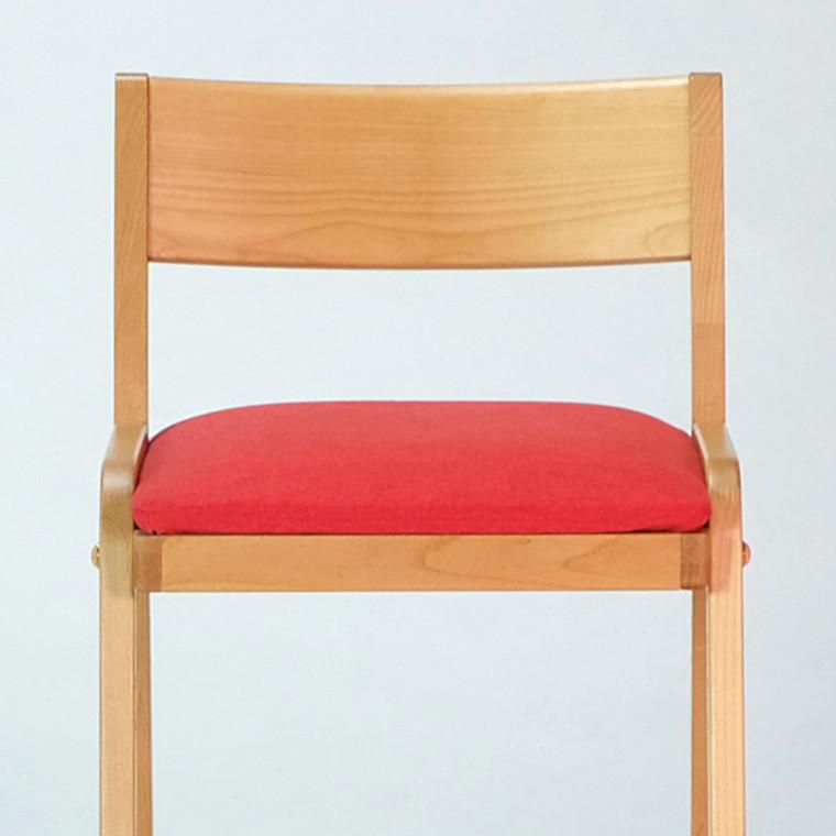 【8/7 21時からポイント15倍】キッズチェア チェア 高さ調節 椅子 学習イス 椅子 木製 カバー 足置き付き 学童 送料無料 COCORO CHAIR + SEAT COVER Atype -ココロ シート カバー Aタイプ - [ISSEIKI 一生紀 200025]
