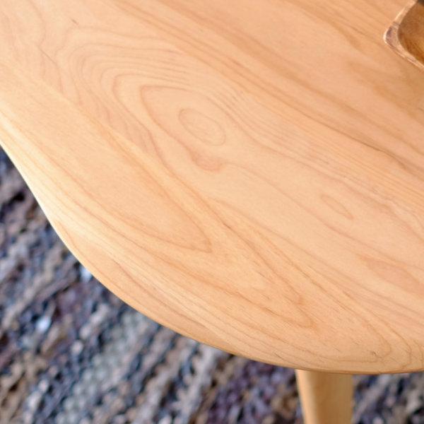 [IS] Mofy (モフィ) センターテーブル 幅100cm テーブル リビングテーブル ローテーブル ナチュラル 座卓 モダン ビーンズ アルダー 天然木 無垢材 北欧 木製 オイル仕上げ 安全 コンパクト【今治タオルプレゼント】