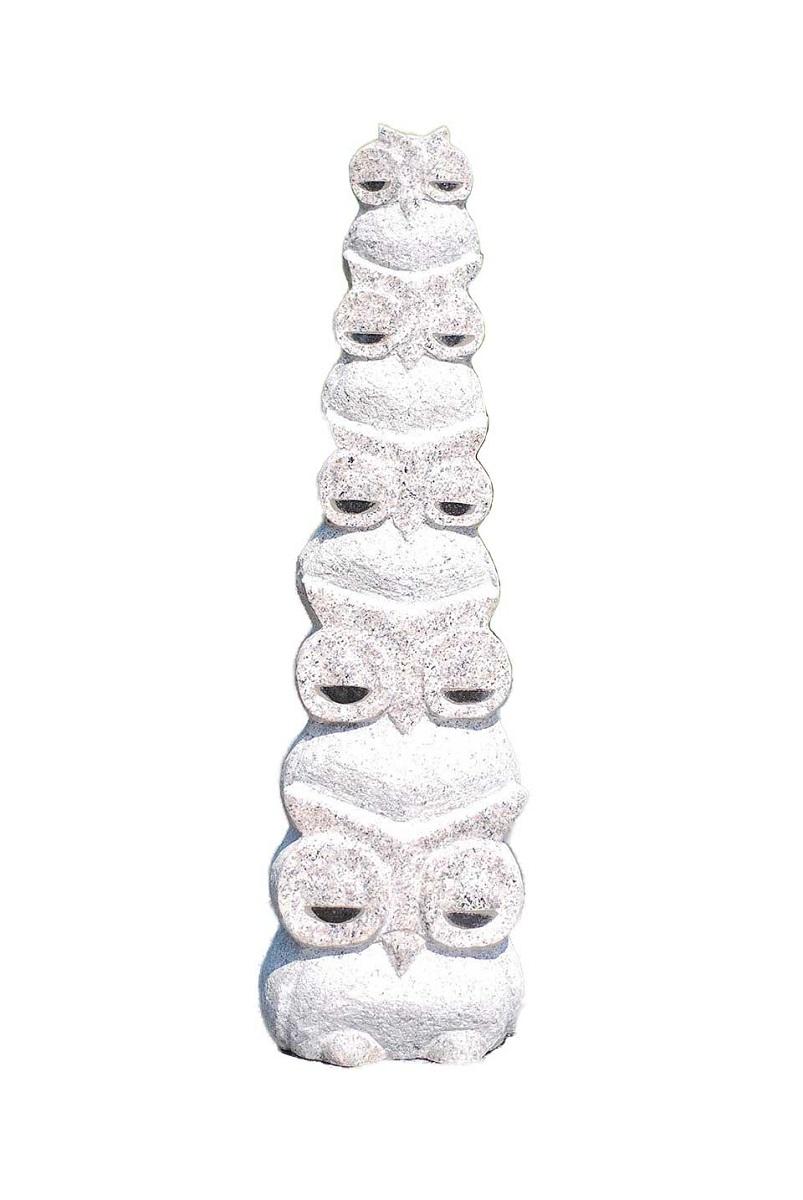五重ふくろうの彫刻品です 新作販売 限定1個 送料無料 ランキングTOP10