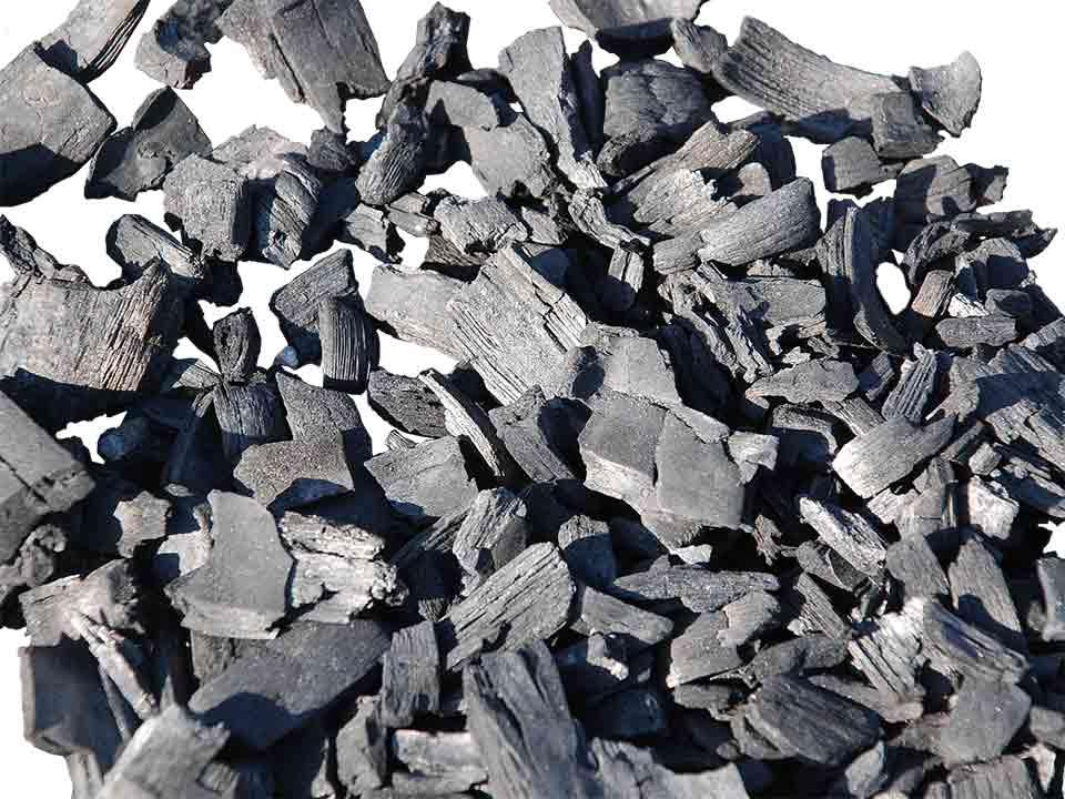 土壌改良やガーデニング、堆肥作りなどにオススメ♪ ポーラス竹炭(露天焼き竹炭)バラ約20リットル(土のう袋1袋)