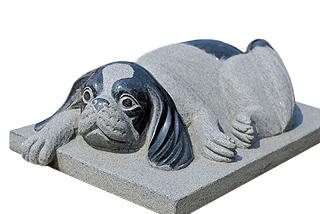 【新作!】犬の彫刻品 (キャバリア)【送料無料】