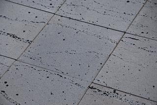 【新価格】溶岩板石400×400×12(波柄タイプ)(マット仕上げ)【7枚セット】 【送料無料】