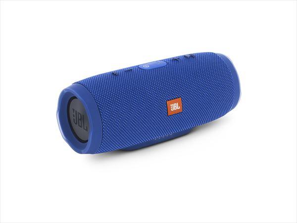 【動画あり★】 防水 ワイヤレス スピーカー Bluetooth スピーカーJBL CHARGE3 ブルー 【JBLCHARGE3BLUEJN】 【送料無料】