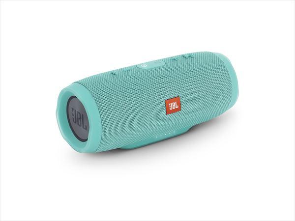 防水 ワイヤレス スピーカー Bluetooth スピーカー JBL CHARGE3 ティール 【JBLCHARGE3TEALJN】 【送料無料】 重低音 大音量 野外 ブルートゥース スマートフォン スピーカー 【1年保証】