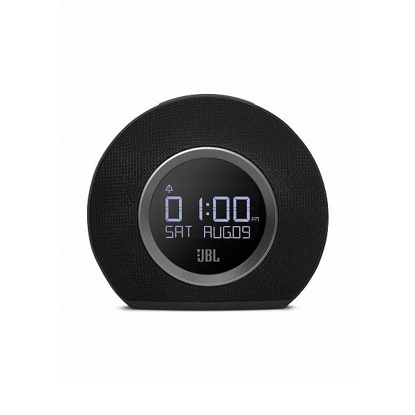 JBL HORIZON BLK ブラック LEDアンビエントライト付 FMラジオ・クロック搭載 Bluetooth スピーカー 【送料無料】 【1年保証】