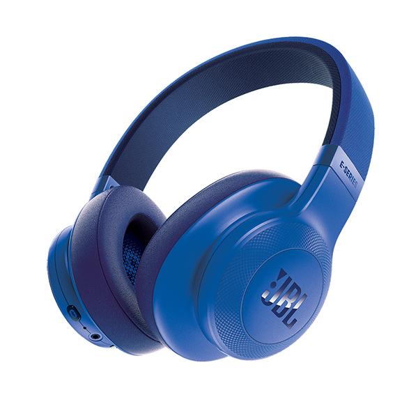 Bluetooth ブルートゥース ヘッドホン JBL E55BT ブルー 【JBLE55BTBLU】 ワイヤレスヘッドホン 【送料無料】 【1年保証】