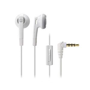 安値 スマートフォン対応マイク付きインナーイヤー型イヤホン audio-technica オーディオテクニカ ATH-C505iS WH ホワイト イヤフォン イヤホン インナーイヤー型 1ボタン スマートフォン対応 永遠の定番 1年保証