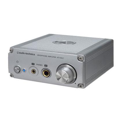 audio-technica オーディオテクニカ AT-HA21 ヘッドホンアンプ(据え置きヘッドホンアンプ)【送料無料】 【1年保証】