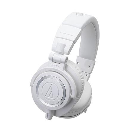 audio-technica オーディオテクニカ ATH-M50X ホワイト 高音質ヘッドホン モニターヘッドホン ヘッドフォン【送料無料】
