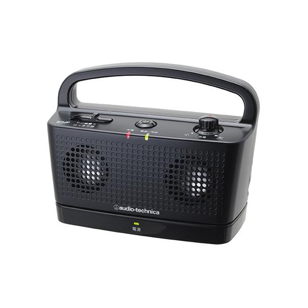 【お取り寄せ】 audio-technica オーディオテクニカ AT-SP767TV-BK ブラック 【送料無料】 テレビ用デジタルワイヤレスステレオスピーカーシステム 【1年保証】
