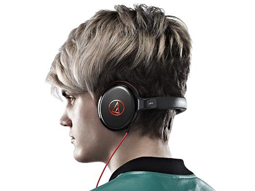 audio-technica(铁三角)ATH-S600-RD(红)背带型的耳机(耳机)