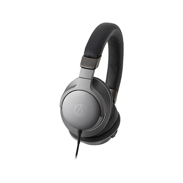 ヘッドホン ヘッドフォン audio-technica オーディオテクニカ ATH-AR5 BK(スティールブラック) ハイレゾ対応密閉型ヘッドホン ヘッドフォン【送料無料】 【1年保証】