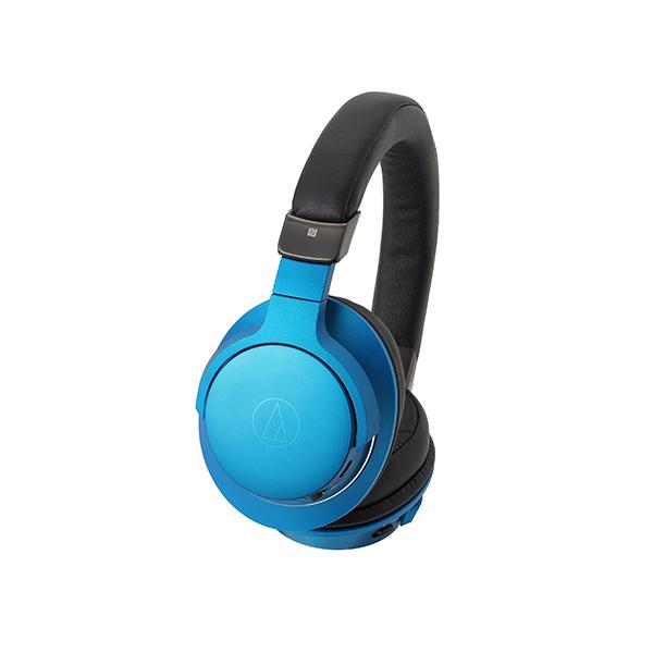 ヘッドホン Bluetooth ワイヤレス audio-technica オーディオテクニカ ATH-AR5BT BL ターコイズブルー ブルートゥース ヘッドフォン 【送料無料】