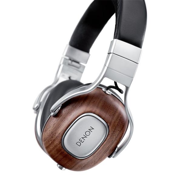 DENON デノン AH-MM400EM アメリカン・ウォールナット材採用の高音質ヘッドホン ヘッドフォン【送料無料】 【1年保証】